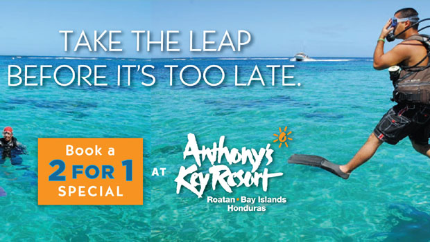 Anthony's Key Buy One, Get One Free Deal Extended through 2017