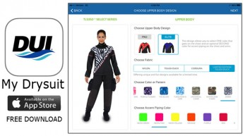 Diving Unlimited International Releases Innovative App to Design Your Own Drysuit