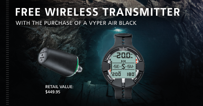 Huish Outdoors celebrates Suunto partnership with Vyper Air Black offer
