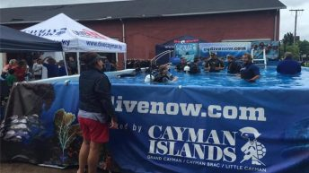 Go Dive Now Pool Makes a Splash at 2016 World Ocean Day Event