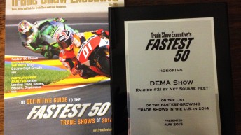 DEMA Show Honored as One of the 50 Fastest-Growing Shows