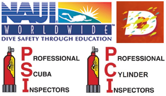 NAUI Members Discount on PSI-PCI Visual Cylinder Inspector Course at DEMA Show
