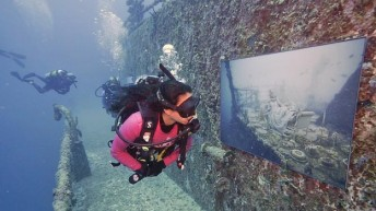 Vandenberg Artificial Reef Becomes Subsea 'Art Gallery' Off Key West