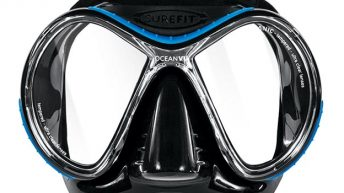 Oceanic introduces the OceanVu mask with SureFit technology
