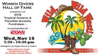 Women Divers Hall of Fame Wild, Wild West event at DEMA Show offers incredible prizes