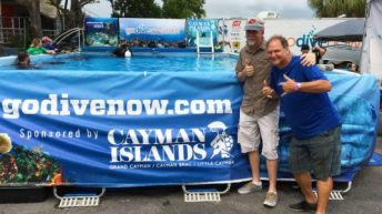 ScubaRadio's Greg The Divemaster plans 1st dive after open heart surgery at DEMA show 2016!