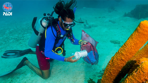 PADI Embraces Earth Day with Partnerships to Support Our Oceans