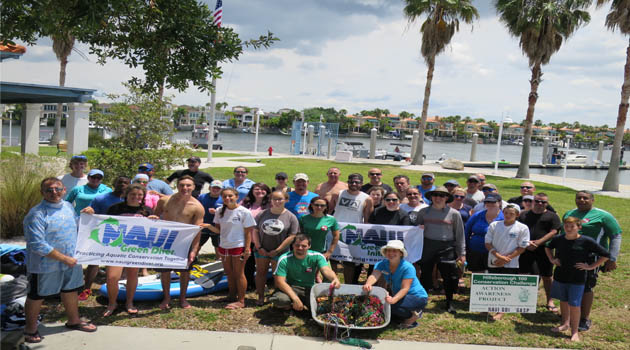 Nearly 100 Pounds of Beads and 70 Pounds of Trash Collected During Gasp – Our Beads of Tampa Bay Survey and Clean-Up Project: