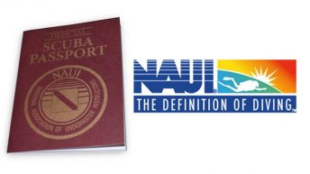 NAUI Relaunches its Passport Scuba Diver Program