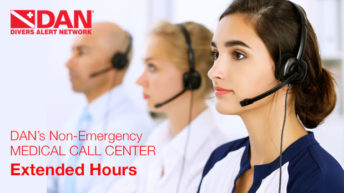 DAN Extends Non-Emergency Medical Support Hours