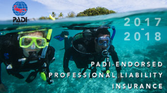 PADI-endorsed Professional Liability Insurance Unmatched in the Industry