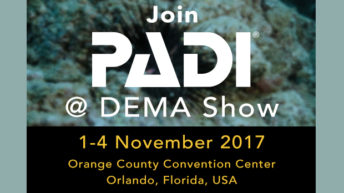 PADI Previews Attractions at 2017 DEMA Show