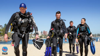 Dive Centers Choose PADI® for Marketing Support and Staff Training