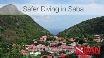 Divers Alert Network Supports Safety in Saba