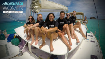 PADI Women's Dive Day Events Inspire New Divers and Strengthen Bonds