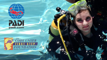 PADI AmbassaDiver Cody Unser Gives Divers with Disabilities a New Perspective
