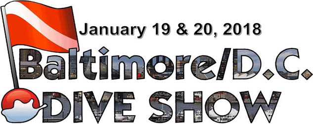 Booth Space On-Sale at Baltimore/DCDiveShow 2018