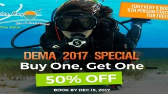 Turquoise Bay Resort Unveils 2017 DEMA Show Special