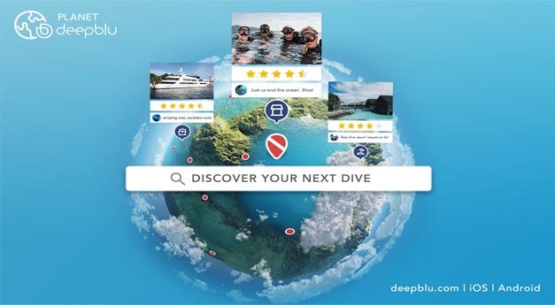 <b>DEMA Show Booth #1653</b><br>Deepblu Launches Product that Offers a Whole New Experience in Dive Trip Planning