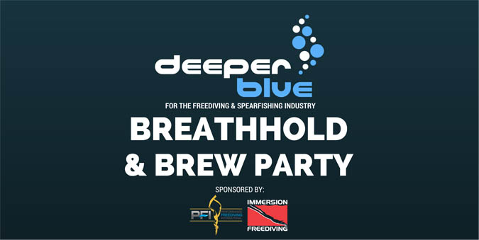 Join DeeperBlue.com For the 2nd Breathold and Brew Industry Party at DEMA 2017