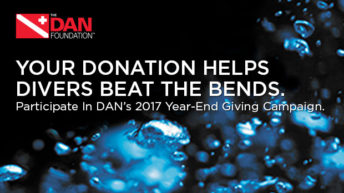 DAN Recompression Chamber Assistance Program Helping Divers Beat the Bends