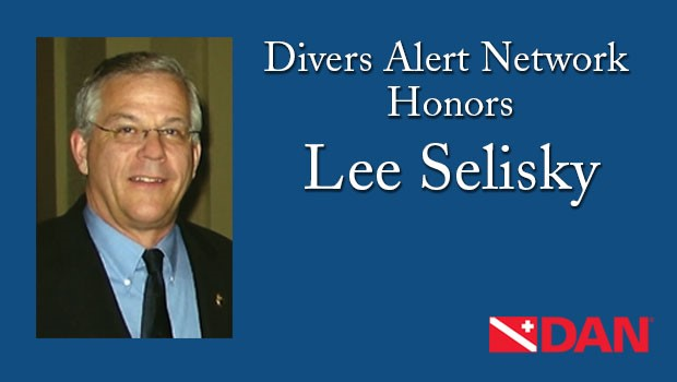 Divers Alert Network Honors Lee Selisky with Inaugural Lifetime Achievement Award