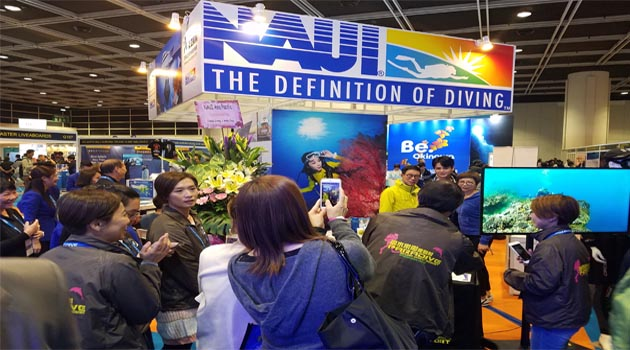 NAUI Expands Reach in Asia, Attends Dive Resort and Travel Expo Show