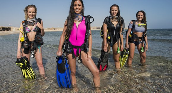 Underwater Photography Modeling Workshop with Miss Scuba UK Models in Red Sea