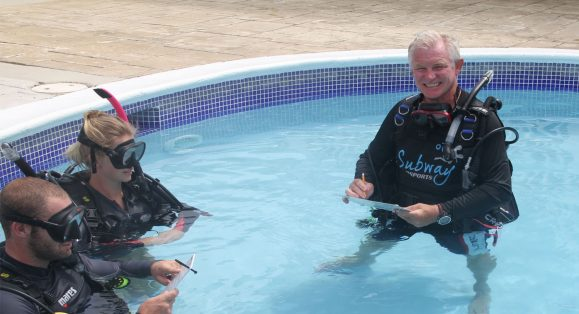 Subway Watersports IDC Director Phillip Hetherington Named PADI Platinum Course Director